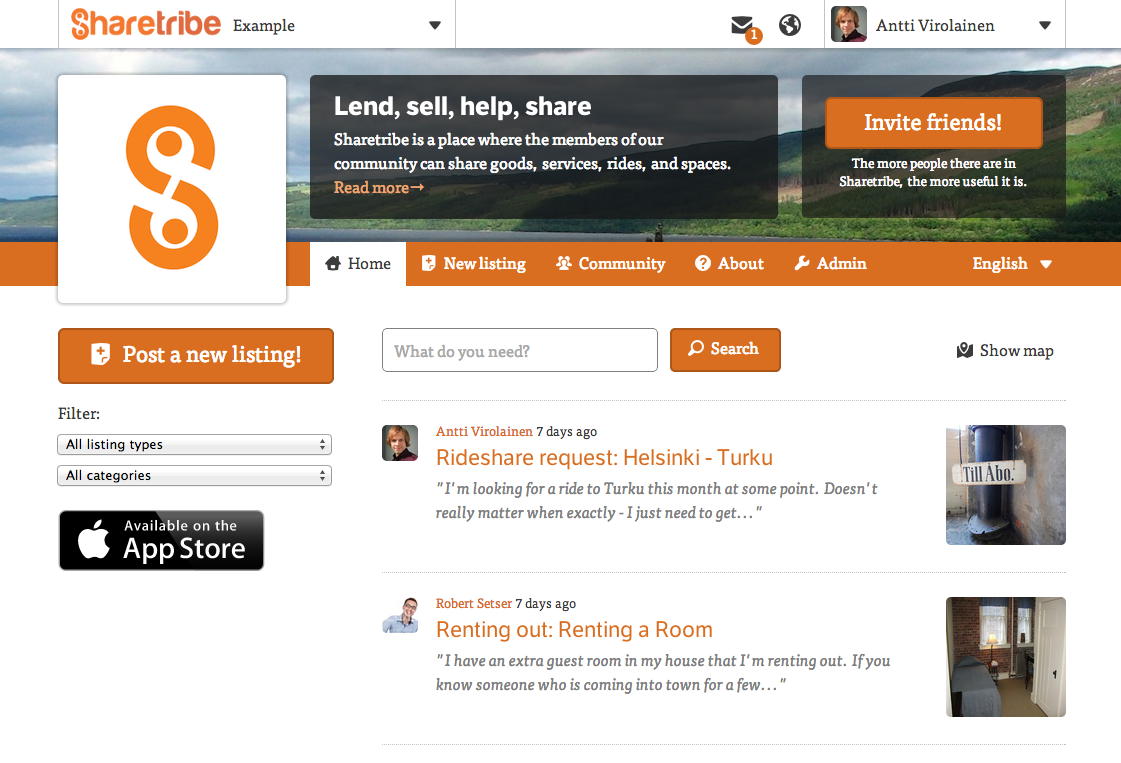 Design A More Easily It's – Sharetribe Marketplace Blog And New Shiny Has Customizable Mobile-friendly